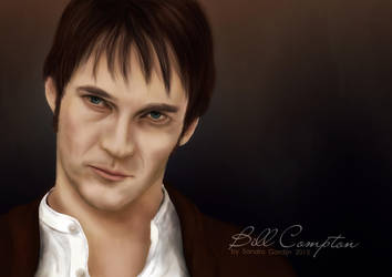 Bill Compton from True Blood by sendee