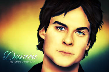Damon Salvatore (part 2, with some corrections) by sendee