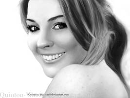 Lindsay Lohan by Quinton-Watson