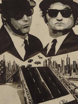 Blues Brothers by Dozeraia