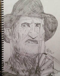 Freddy Krueger  by Dozeraia