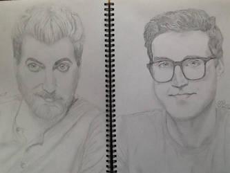 Rhett and Link by Dozeraia
