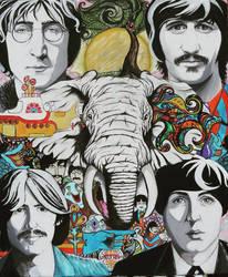 The Beatles by Dozeraia
