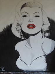 Marilyn Monroe by Dozeraia