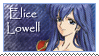 Elice Lowell Stamp by Prince-Stephen