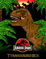 Jurassic Park by luigicuau10