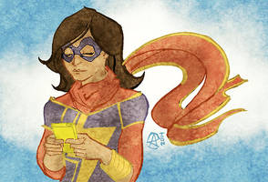 Ms. Marvel by photon-nmo
