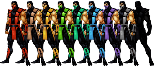 Mortal Kombat 2D by ChamKham
