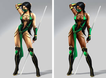 Jade MK9: Before/After by ChamKham