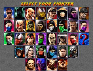 Mortal Kombat Trilogy by ChamKham