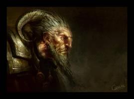 Goat man by artbycarlos