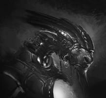 Alien Wizard Part 1 by artbycarlos