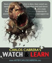 Watch and Learn FREE videos by artbycarlos