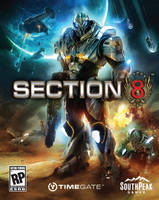 SECTION 8 COVER-XBOX GAME by artbycarlos