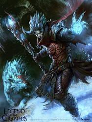 A snow king by artbycarlos