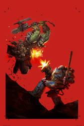 Warhammer test by artbycarlos