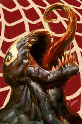 Venom version 2 by artbycarlos