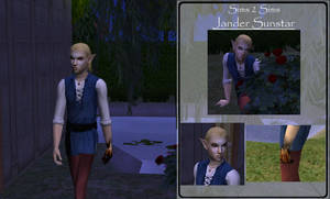 Sims 2 Sims - Jander Sunstar by Donaruie