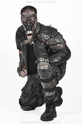 Weathered Tire Armor by swanboy