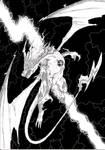 The Lightning Dragon God by KayHallow
