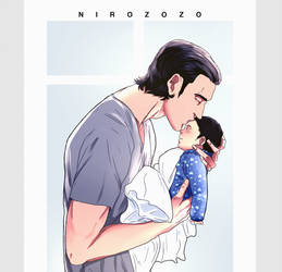 Father and Son by Nirozozo