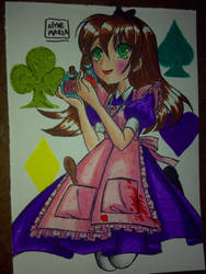 Dark Alice by DragonSlayerDraw