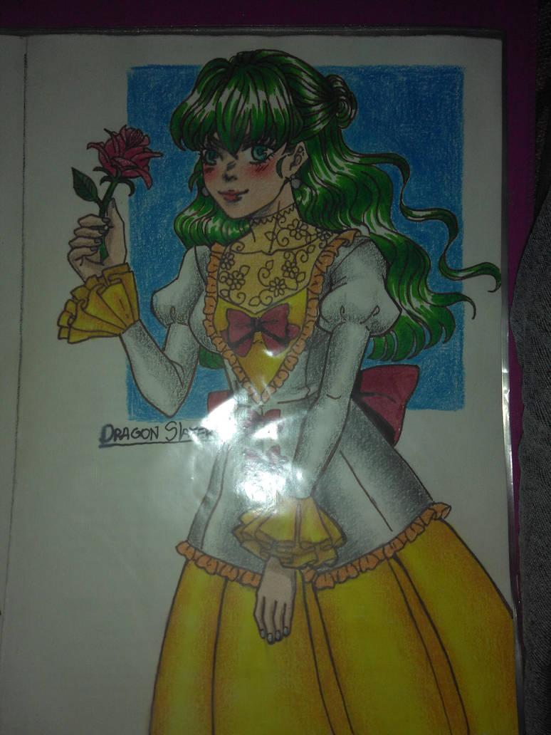 Vitorian Girl by DragonSlayerDraw