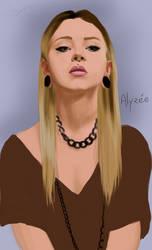 Alyzee illustration WIP by Wild-Shay