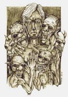 myself n the demons of sorrow by ectomurf