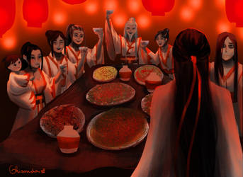 A toast to the Yiling Patriarch by ghironda