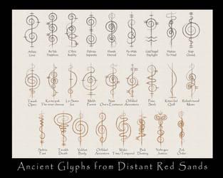 Faux Ancient Vulcan Script by Trish2