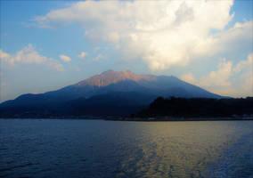 Sakurajima Kagoshima Japan by Furuhashi335