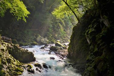 Stream of Amanoiwato 1 by Furuhashi335