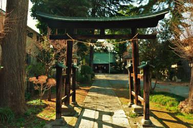 A small Shrine near my home by Furuhashi335