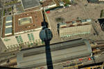 A pendulum like shadow of Berlin TV tower. by Furuhashi335