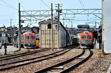 A small terminus in Kanazawa. by Furuhashi335