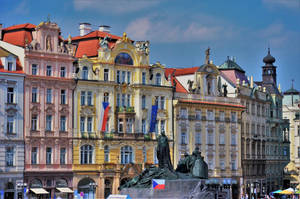 Old Town Square in Prague by Furuhashi335