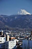 Mount Fuji from Kofu by Furuhashi335