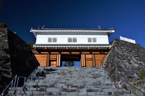 Gate of Kofu castle by Furuhashi335
