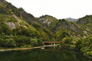 Fall in Lake Tagokura 2 by Furuhashi335