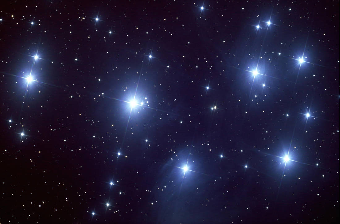The Pleiades Cluster by insomniaworks