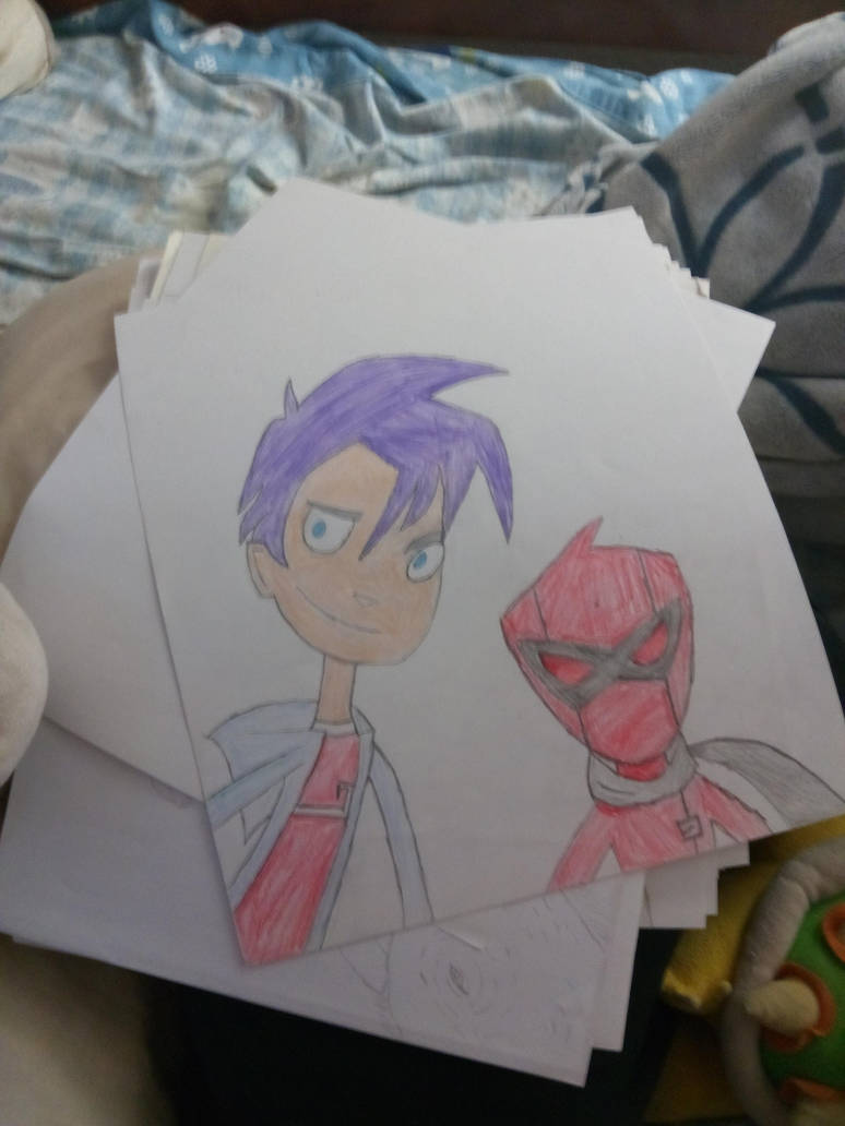 one of my old drawings of a cartoon i used to watc by darkdraco-luna