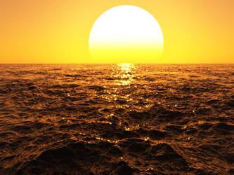 Sunset by gummiball-auf-lsd