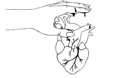 Hand auf's Herz by gummiball-auf-lsd