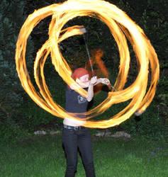 Feuerpoi - 5-Beat-Weave by gummiball-auf-lsd