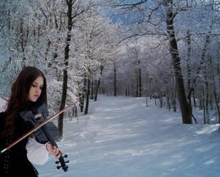 Violinist by Raikko