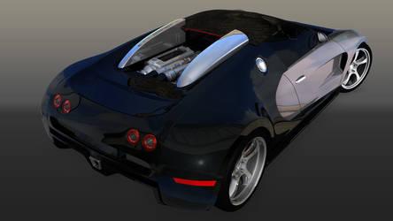 Bugatti Veyron Engine by ragingpixels
