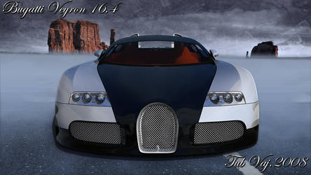 Bugatti Veyron Final Render by ragingpixels
