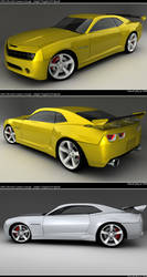 Camaro Final Renders by ragingpixels
