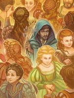 The Twelve Dancing Princesses by RebeccaSorge